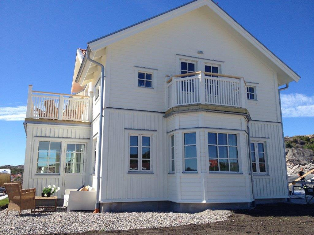 Westcoast Windows supplies composite windows for a new development of luxury holiday and residential homes on the Swedish West coast