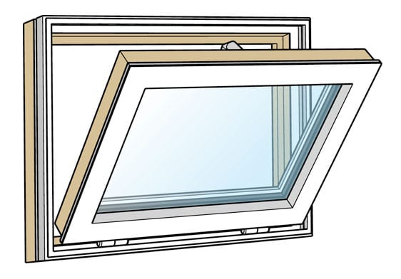 Bottom Hung Windows : Westcoast windows classic composite aluminium wood