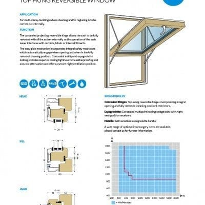 Westcoast Windows technical data sheets now available to download