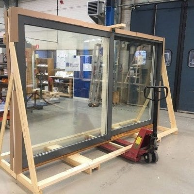 New distributor, Alchemy Projects visits Westcoast Windows factory in Sweden