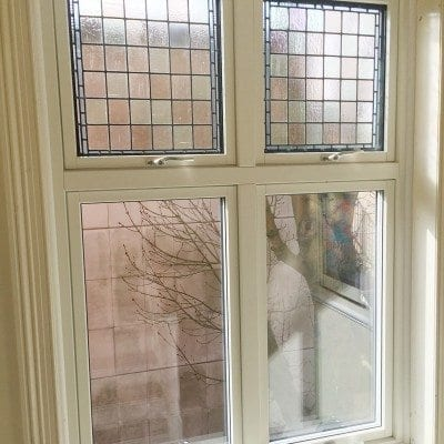 Composite windows and stained glass refurbishment – the best of both worlds