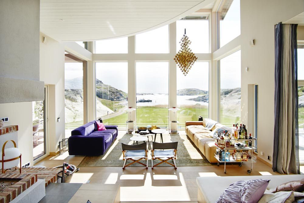 Westcoast Windows Swedish composite windows and doors are ideal for your contemporary self-build project