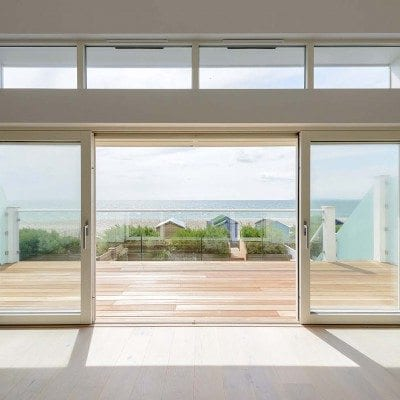 Make the most of the summer weather – bring the outside in with composite sliding doors or composite bi-fold doors (also known as French windows or patio doors)