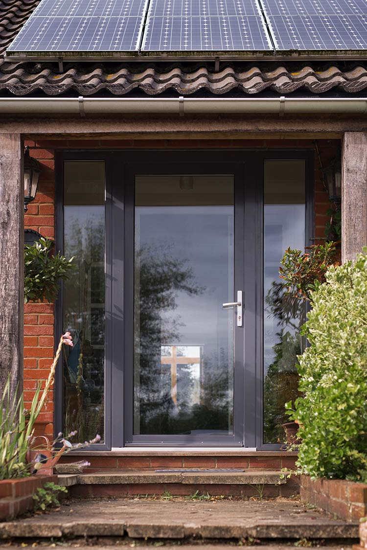 Westcoast Windows supply Norfolk property with Swedish composite aluminum timber replacement windows