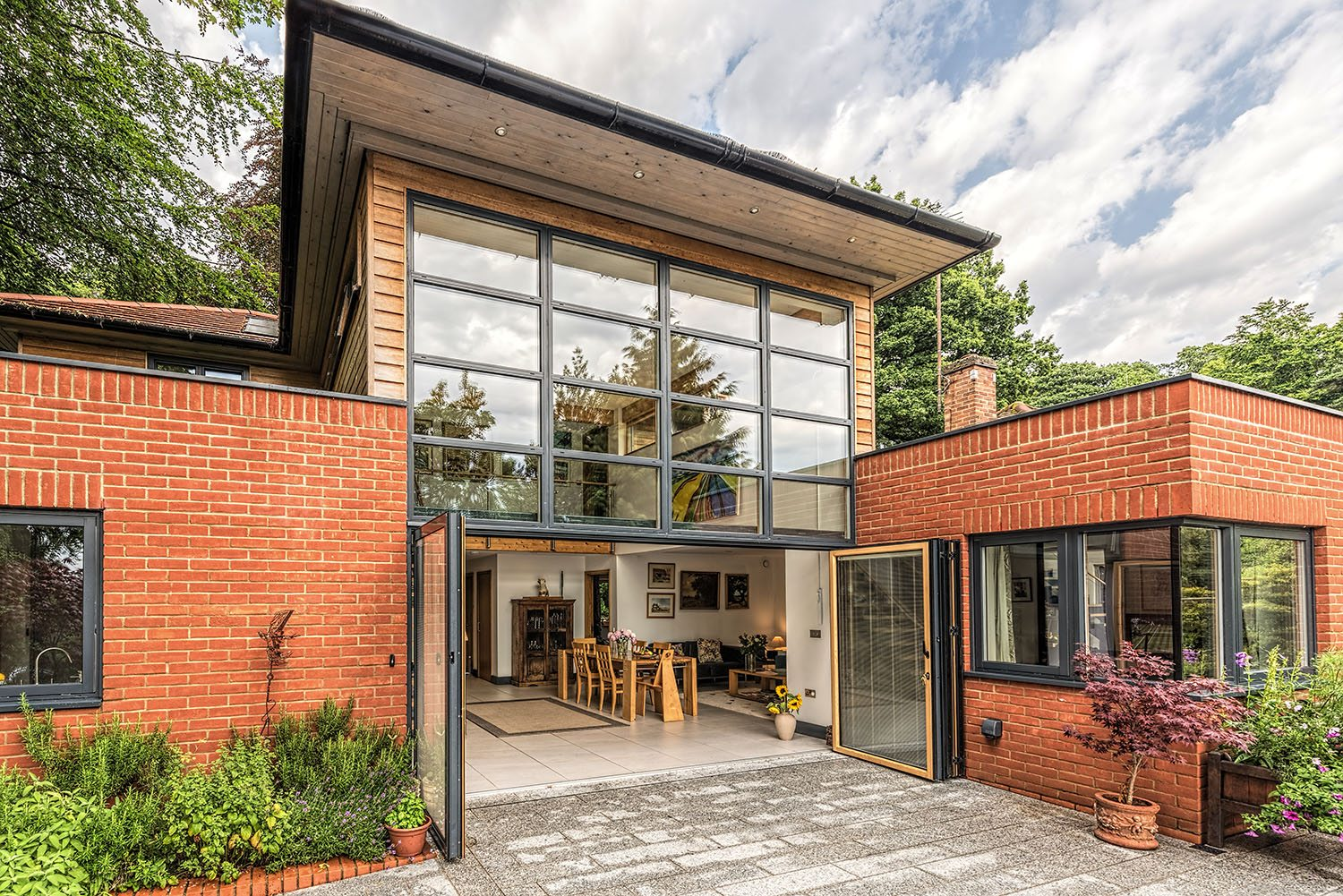Westcoast Windows Swedish composite windows featured in Norwich self-build article for Build It magazine