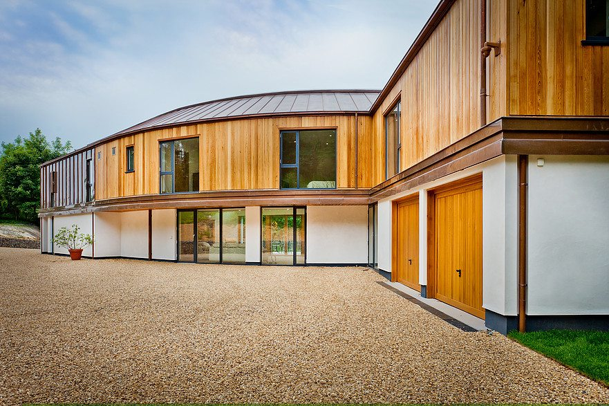 Westcoast Windows supplies Swedish composite windows for award-winning new build project in Norfolk
