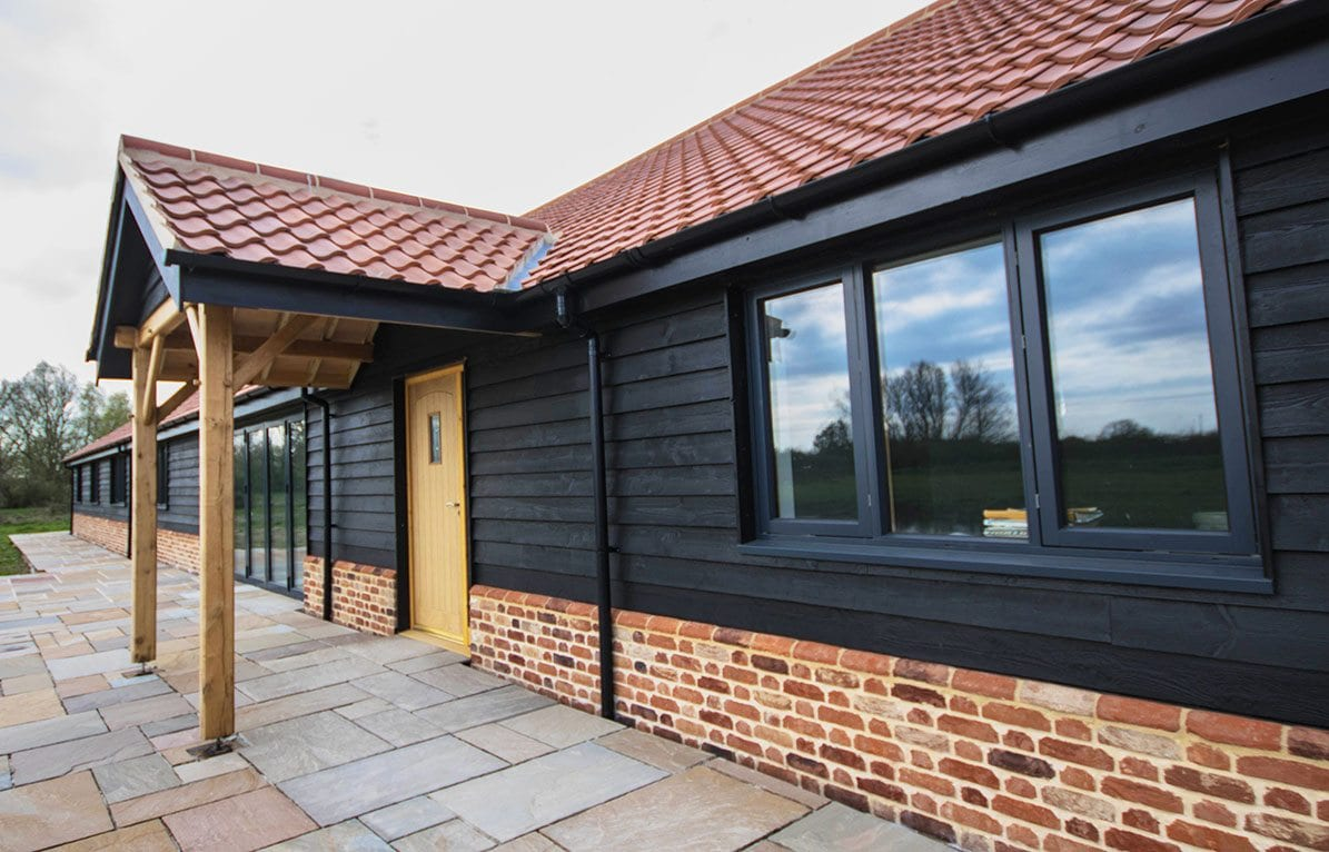 Westcoast Windows Swedish composite windows are ideal for your traditional or contemporary barn conversion