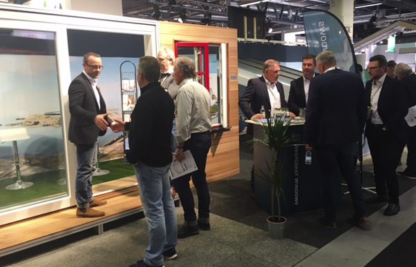 Westcoast Windows visit the East coast of Sweden to exhibit their aluminium timber composite windows and doors at Nordbygg 2018