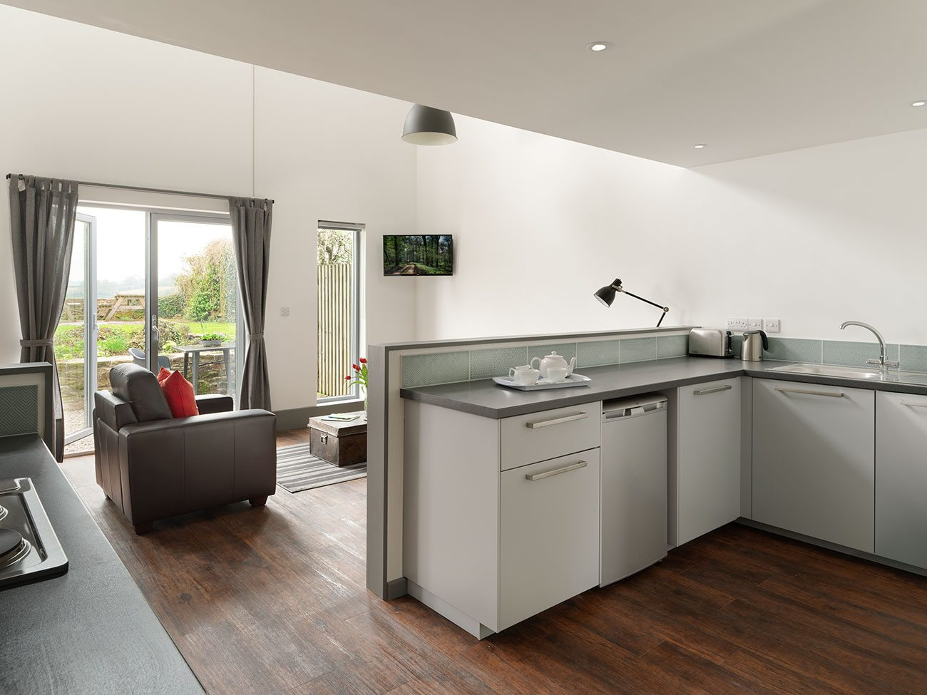 Westcoast Windows supply Swedish composite windows and doors for luxury self-catering holiday apartments in Gloucestershire